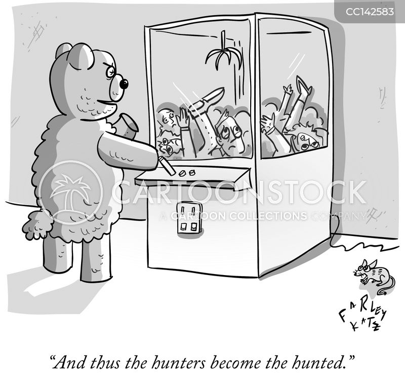 Hunted cartoon