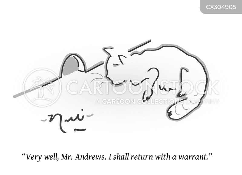 warrant cartoon