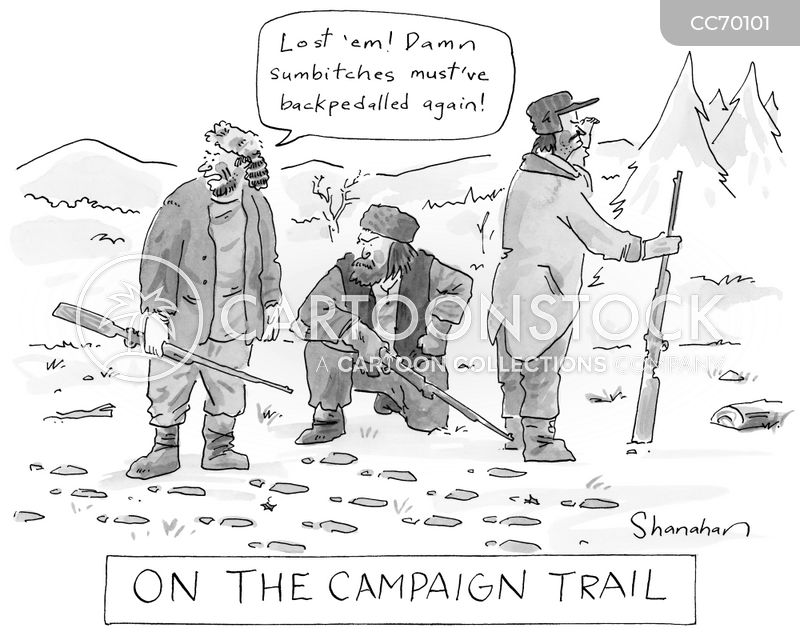 tracking cartoon