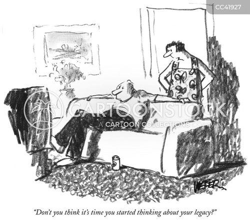 legacy cartoon