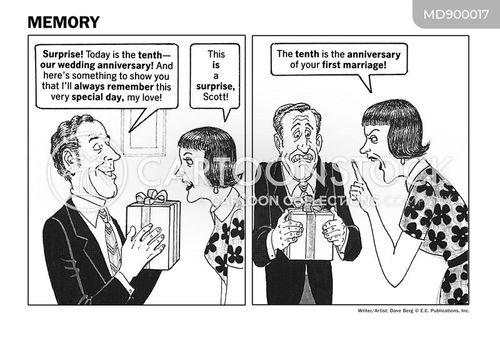 first marriage cartoon