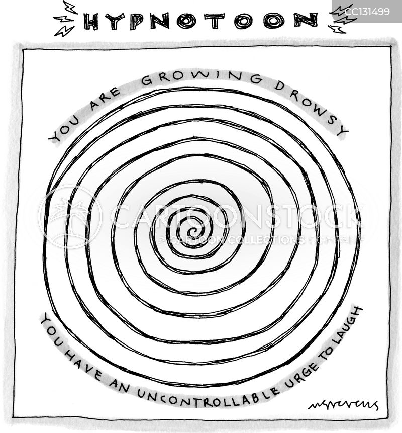 hypnotic cartoon