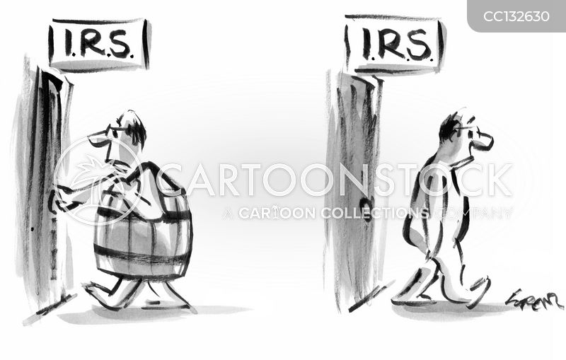 tax bills cartoon