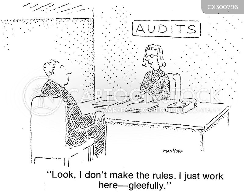 audits cartoon