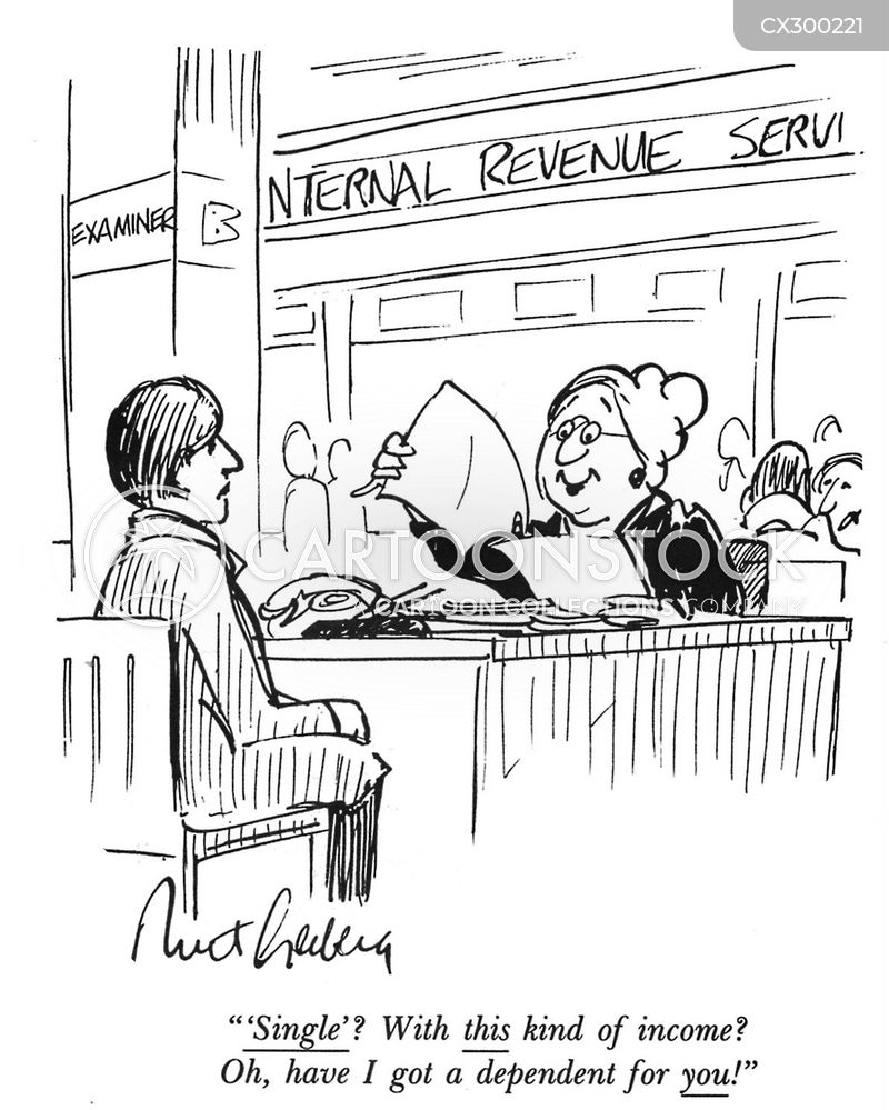 revenue agent cartoon
