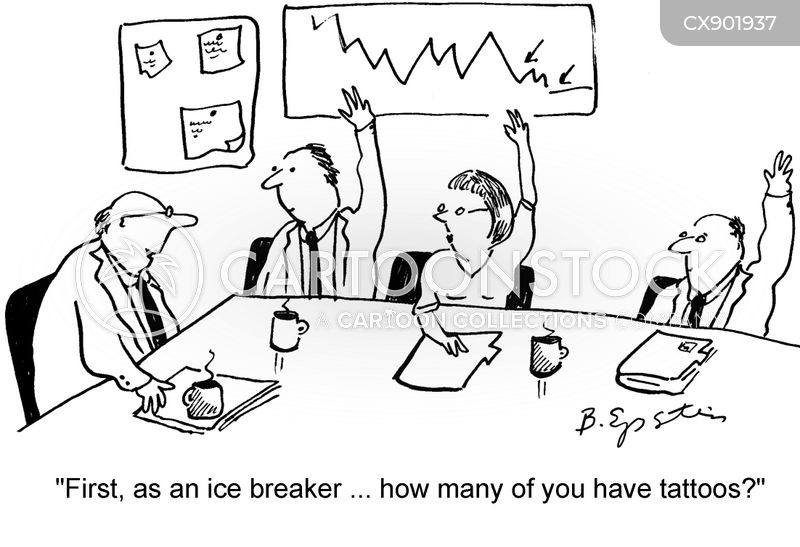 ice-breakers cartoon