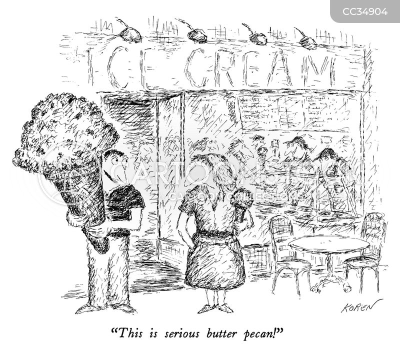 ice cream cartoon