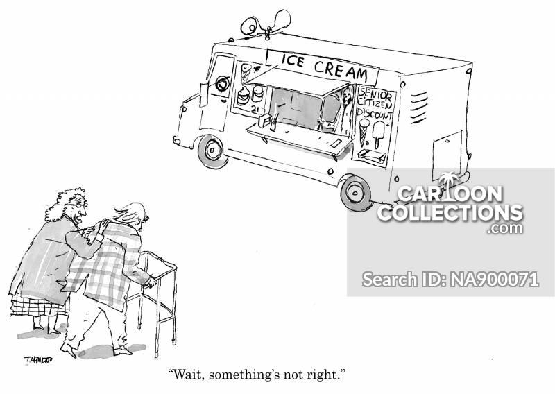 ice-cream vans cartoon