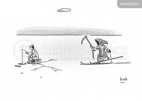 imminent death cartoon