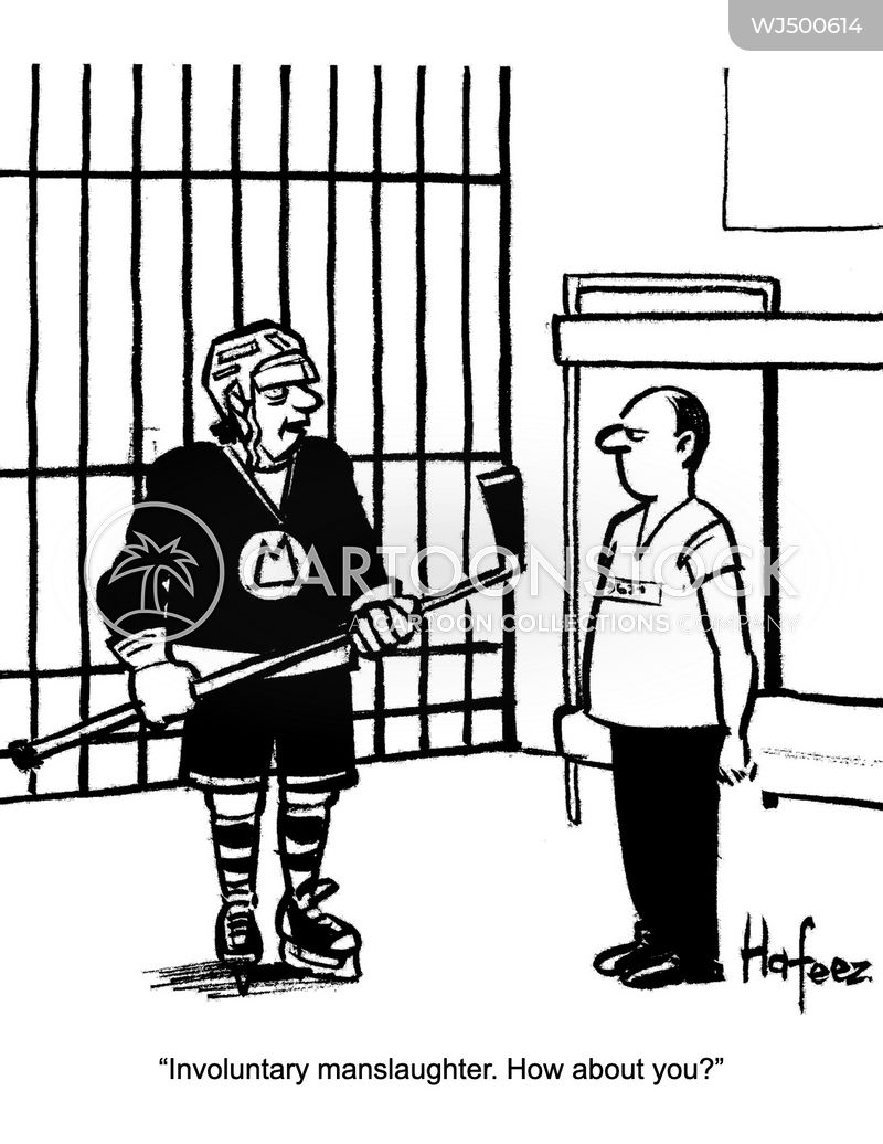 ice hockey cartoon