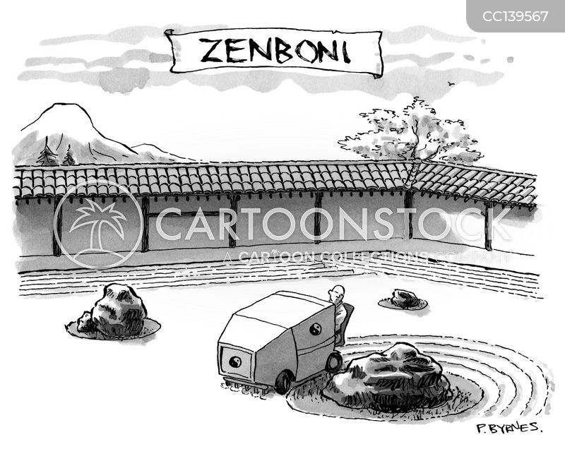 Zen Gardens cartoon
