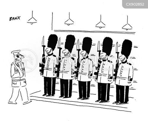 guardsmen cartoon