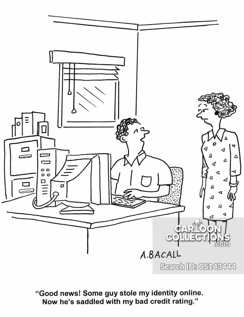 internet frauds cartoon