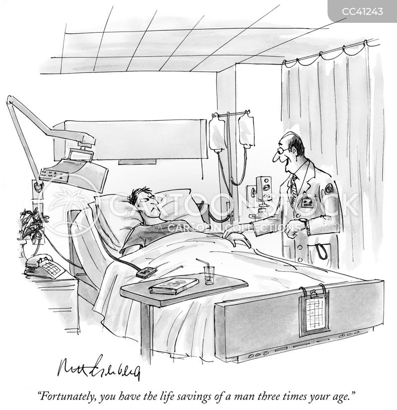 sickness cartoon