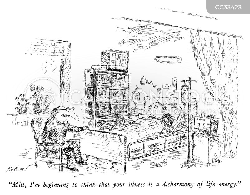 deathbed cartoon