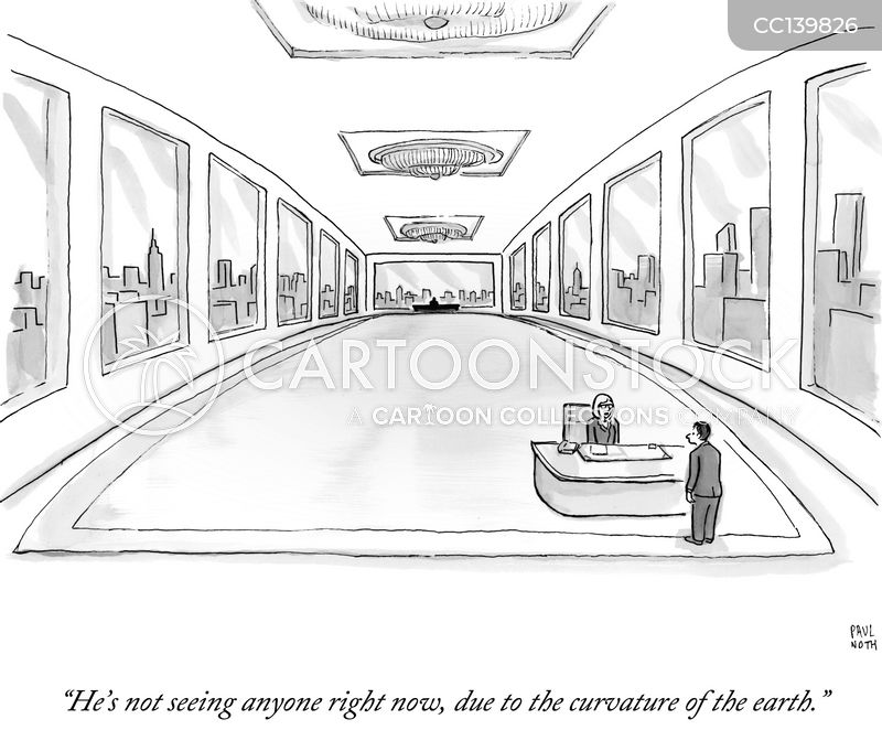 reception cartoon