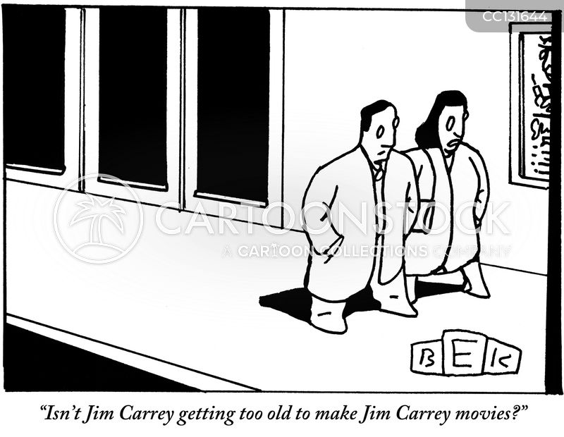 Jim Carrey cartoon