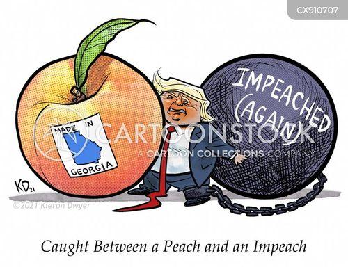 peach cartoon