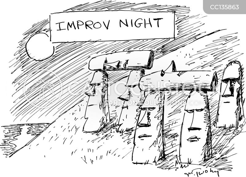 rapa nui cartoon