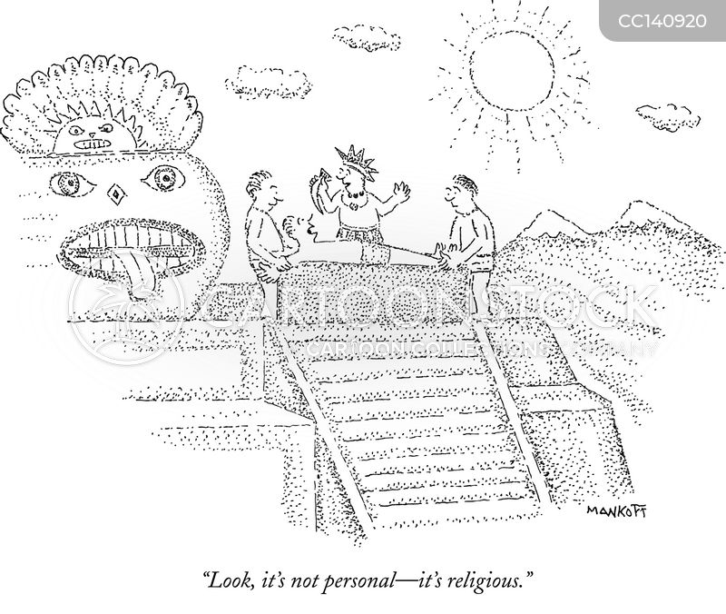 incas cartoon