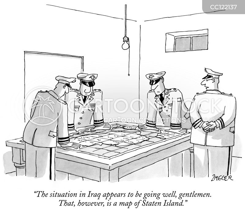 military leaders cartoon