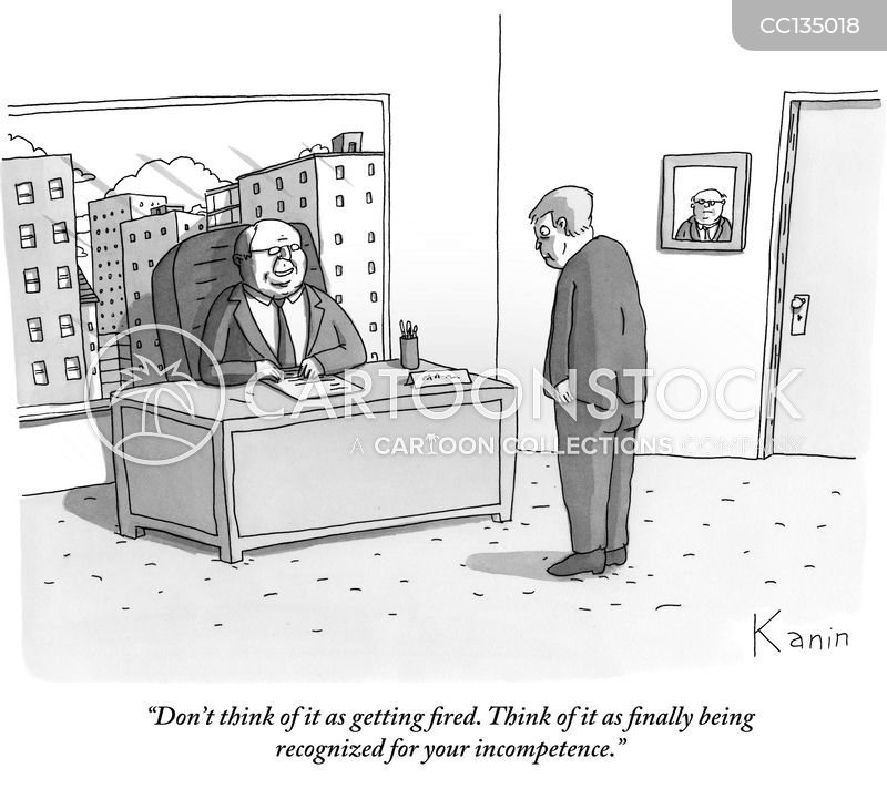 ex employee cartoon