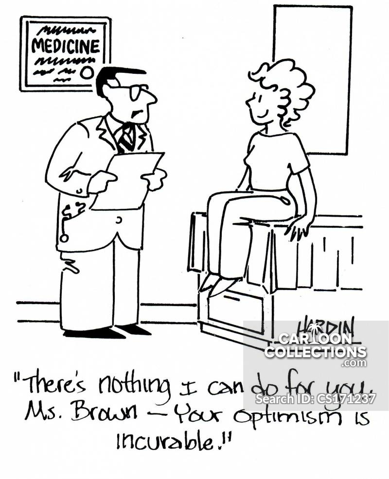 incurable optimism cartoon
