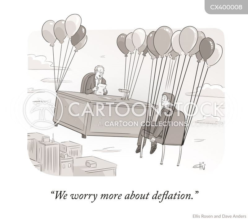 inflated cartoon