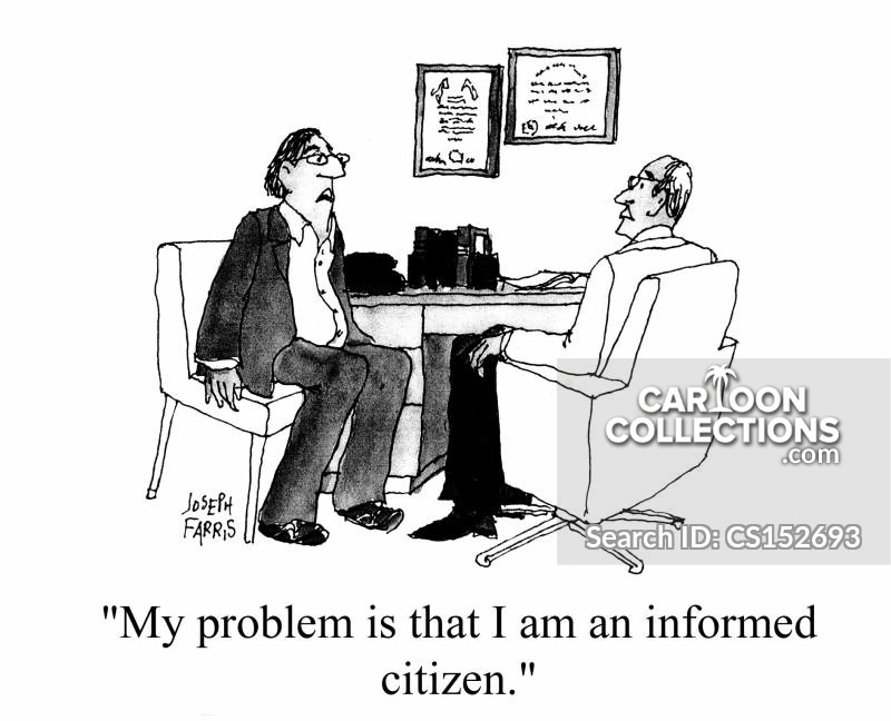 Informed Citizen cartoon