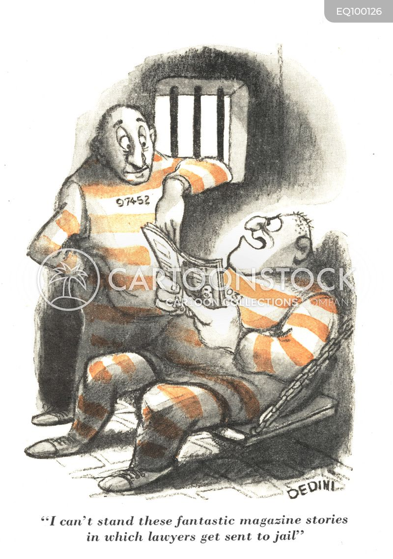 jail bird cartoon