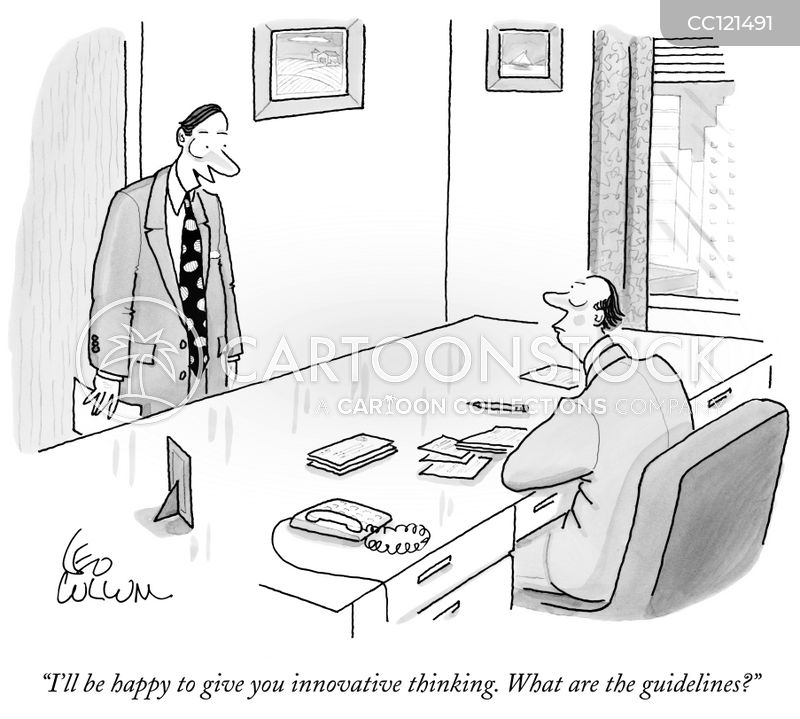 Innovating cartoon