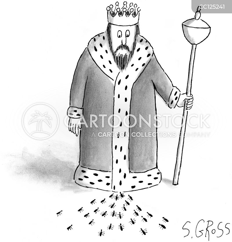 royal robes cartoon