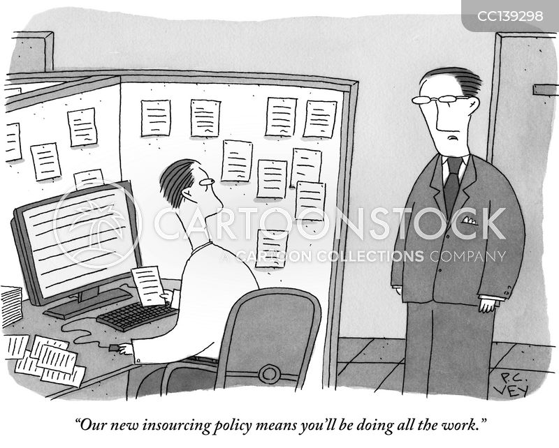 white collar cartoon