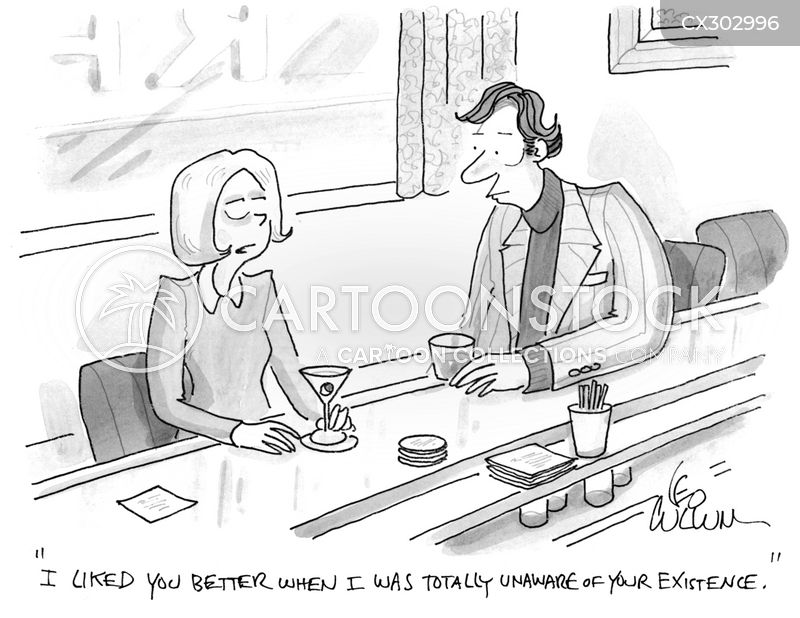 unwanted attention cartoon