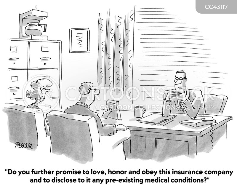 insurance agency cartoon