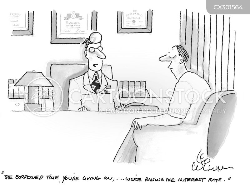 interest rates cartoon