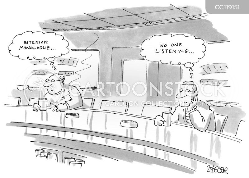 Interior Monologues cartoon