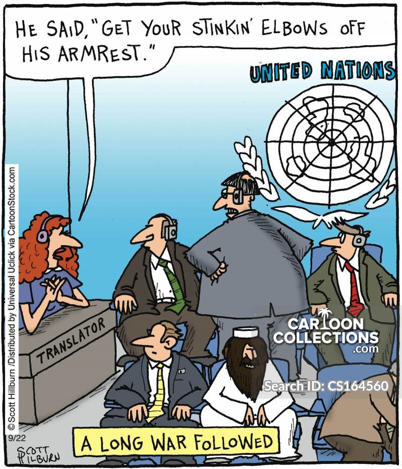 international diplomat cartoon