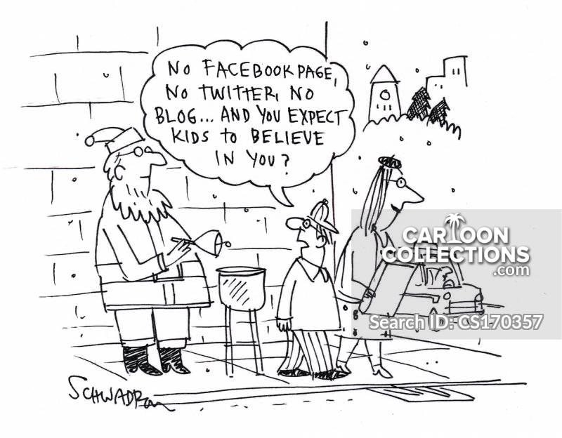 tweeted cartoon