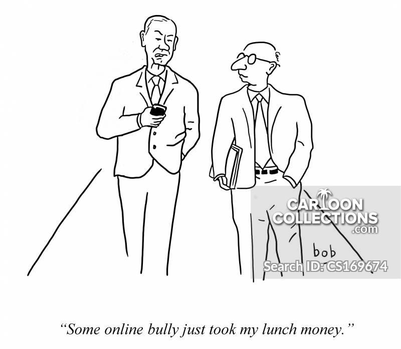 web theft cartoon