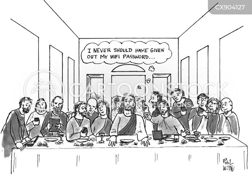 new testament cartoon
