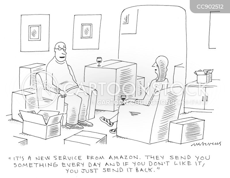 consumer culture cartoon
