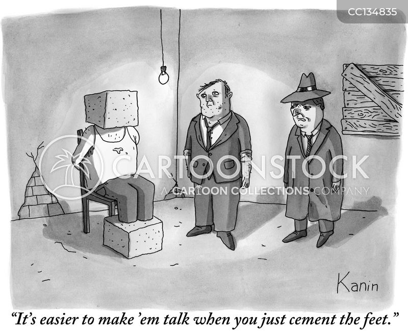 interrogate cartoon