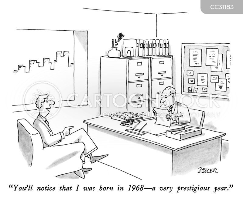 Interview Success cartoon