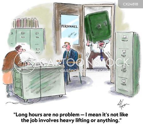 long hours cartoon