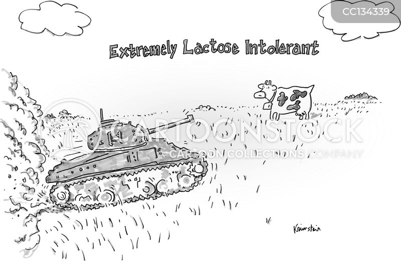 intolerant cartoon