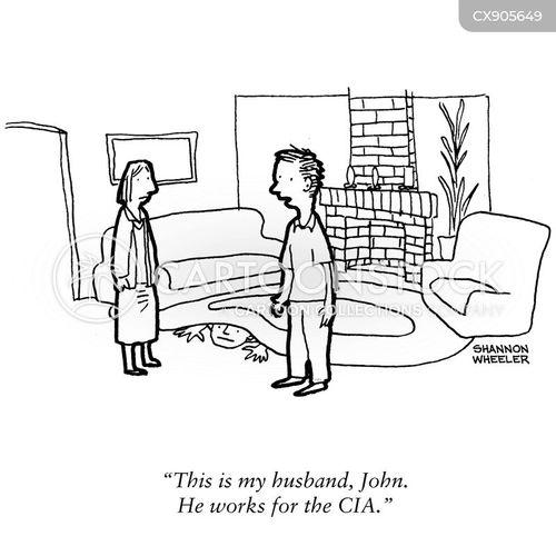 cia agent cartoon