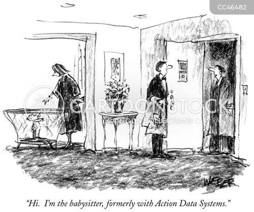 employment history cartoon