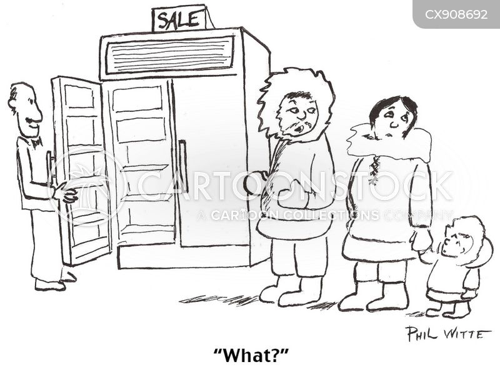 inuit cartoon