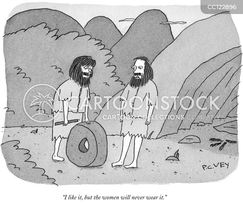 Prehistoric cartoon